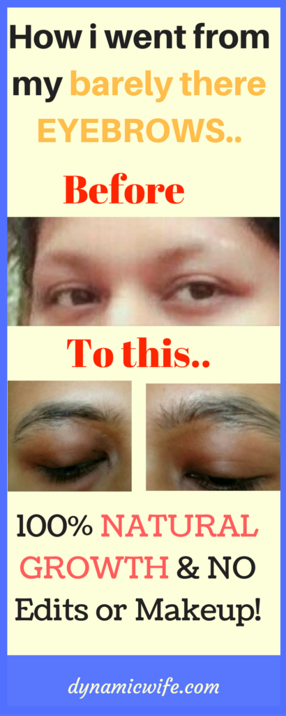 How I Went from My Barely There Casper Eyebrows to Thick Natural Dark Eyebrows!
