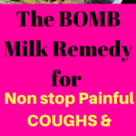 Bomb Remedy to Get Rid of Painful Coughs and Phlegm in 5 Days!