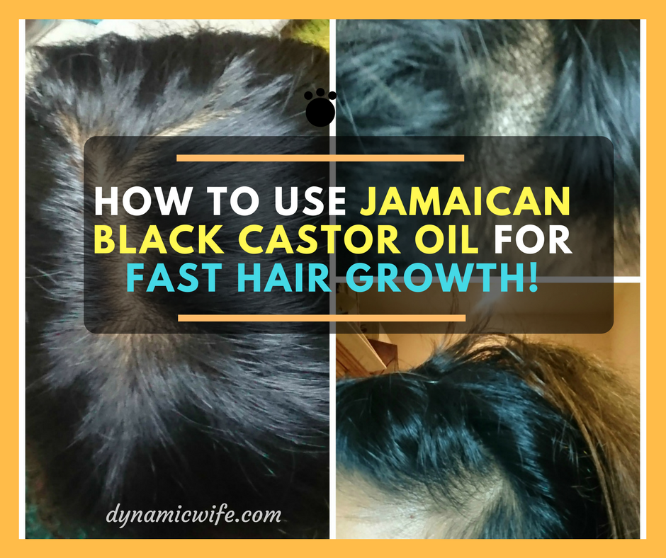 Jamaican Black Castor Oil for Hair Growth (+ Thinning EDGES!)