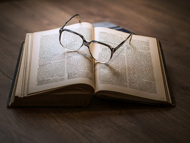 Knowledge - Book and Glasses
