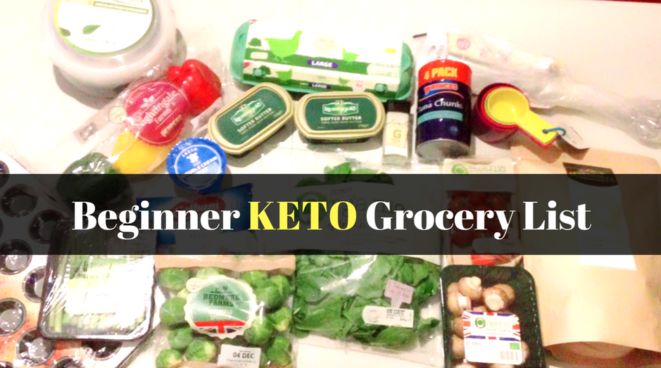 keto diet grocery list