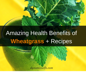 The Amazing Wheatgrass Health Benefits + Recipe Ideas