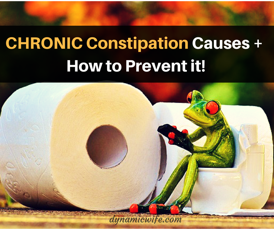 what causes chronic constipation