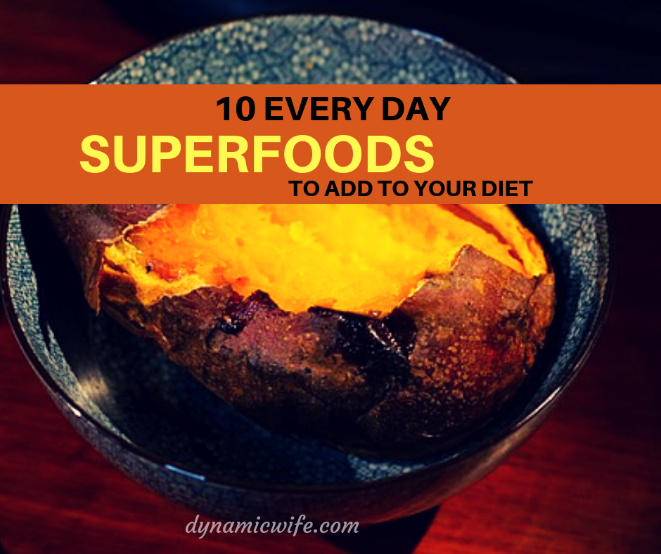 best everyday superfoods