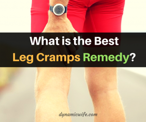 What Is The Best Leg Cramps Remedy