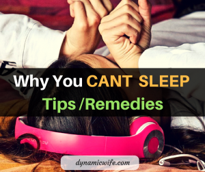 Why You CANT SLEEP + Tips and Remedies